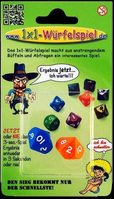1x1-Würfelspiel -