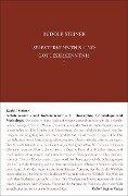 Selbsterkenntnis und Gotteserkenntnis 1 - Rudolf Steiner