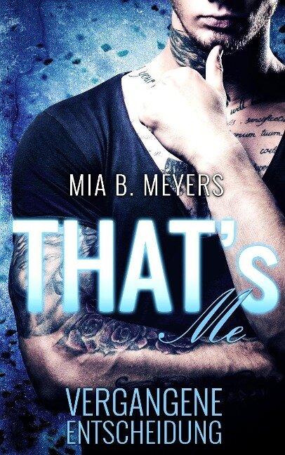 That's Me - Mia B. Meyers