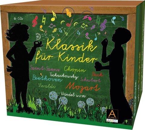 Klassik für Kinder - Johann Sebastian Bach, Wolfgang Amadeus Mozart, Frédéric Chopin, Edvard Grieg, Joseph Haydn