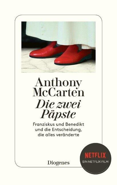 Die zwei Päpste - Anthony McCarten