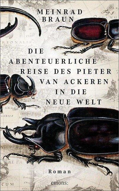 Die abenteuerliche Reise des Pieter van Ackeren in die neue Welt - Meinrad Braun