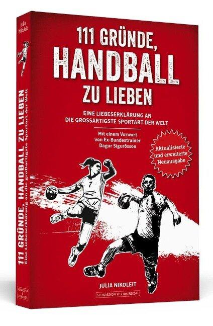 111 Gründe, Handball zu lieben - Julia Nikoleit