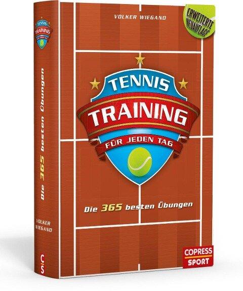 Tennistraining für jeden Tag - Volker Wiegand
