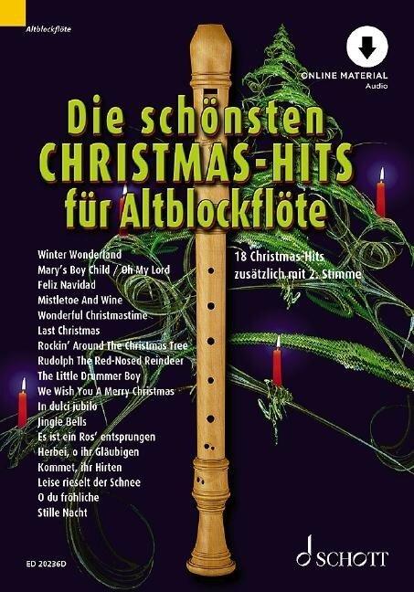 Die schönsten Christmas-Hits für Alt-Blockflöte -