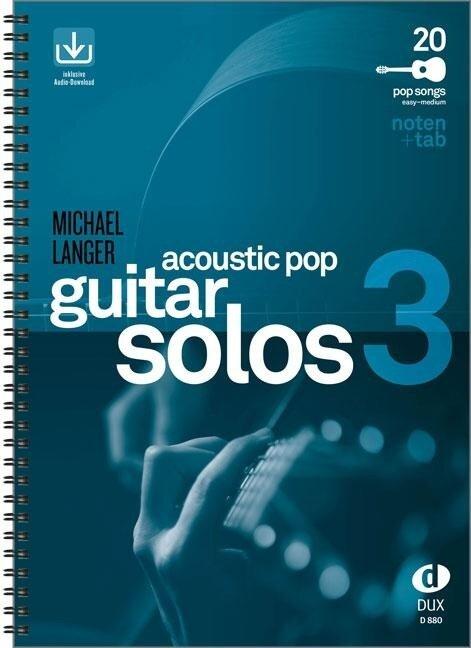 Acoustic Pop Guitar Solos 3 - Michael Langer