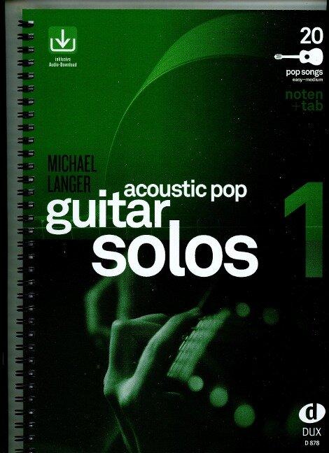 Acoustic Pop Guitar Solos 1 - Michael Langer