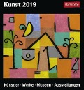 Kunst - Kalender 2019 - Gero Seelig, Maria Christina Zopff