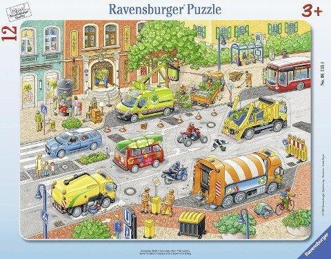 Lebendige Stadt. Puzzle 12 Teile -