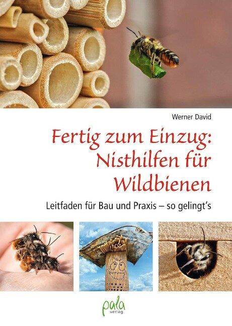 Fertig zum Einzug: Nisthilfen für Wildbienen - Werner David