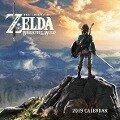Legend of Zelda: Breath of the Wild 2019 Wall Calendar -