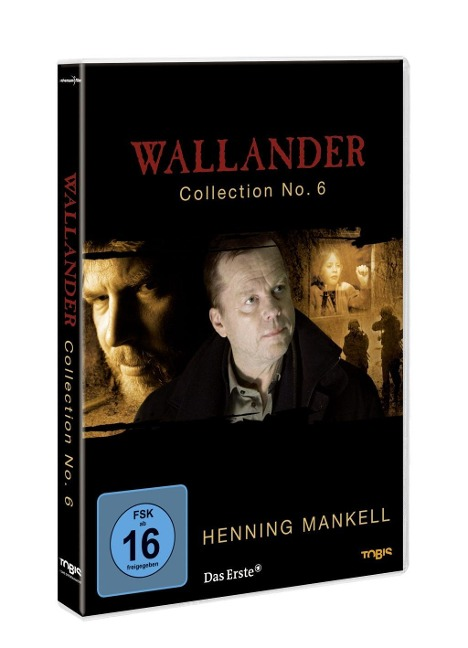 Wallander Collection No. 6 - Henning Mankell