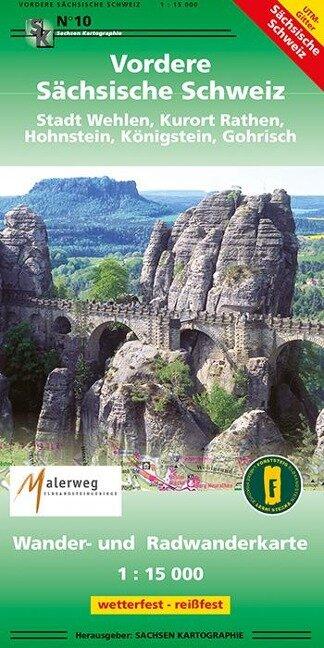 Vordere Sächsische Schweiz Stadt Wehlen, Kurort Rathen, Hohnstein, Königsten, Gohrisch -