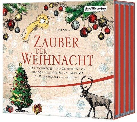 Zauber der Weihnacht - Wilhelm Busch, Theodor Fontane, Selma Lagerlöf, Joachim Ringelnatz, Kurt Tucholsky