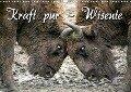 Kraft pur - Wisente (Wandkalender 2019 DIN A3 quer) - Martina Berg