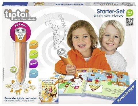 tiptoi® Starter-Set Mein Wörter-Bilderbuch Unser Zuhause -