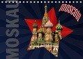 Moskau - Moscow (Tischkalender 2018 DIN A5 quer) - Hermann Koch