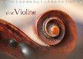 eine Violine / CH-Version / Geburtstagskalender (Tischkalender 2019 DIN A5 quer) - Christiane Calmbacher