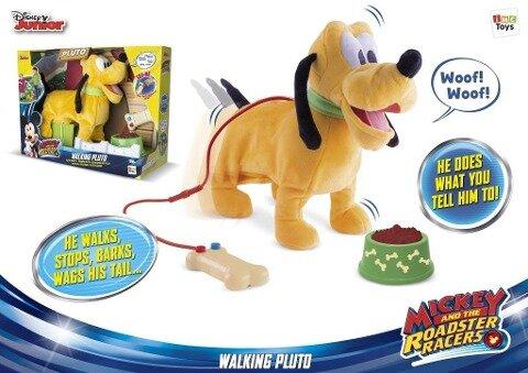Laufender Pluto -