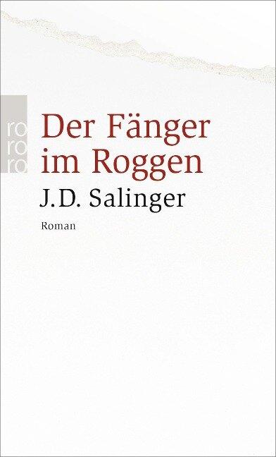 Der Fänger im Roggen - Jerome David Salinger