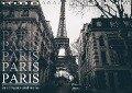 Paris - in schwarz und weiss (Tischkalender 2018 DIN A5 quer) - Christian Lindau