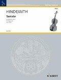 Sonate. für Bratsche allein. op. 11/5. Viola. - Paul Hindemith