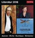 Literatur. Kalender 2018 - Dirk Michel, Barbara Falk