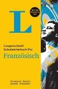Langenscheidt Schulwörterbuch Pro Französisch - Buch und App -