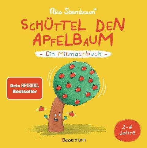 Schüttel den Apfelbaum - Ein Mitmachbuch. Für Kinder von 2 bis 4 Jahren - Nico Sternbaum