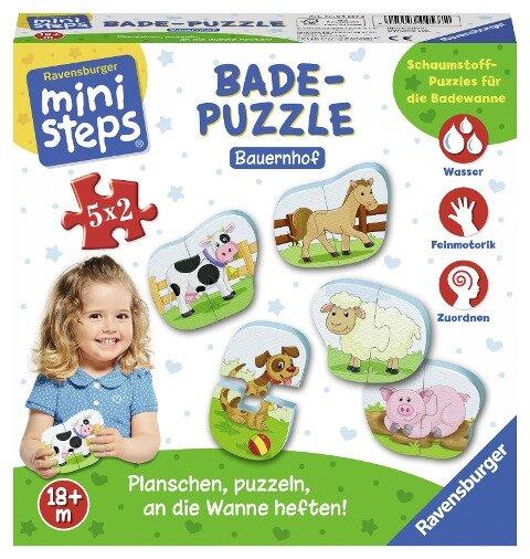 Badepuzzle Bauernhof -