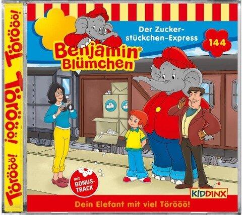 Benjamin Blümchen 144: Der Zuckerstückchen-Express -