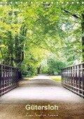 Gütersloh - Eine Stadt im Grünen (Tischkalender 2018 DIN A5 hoch) - Beate Gube