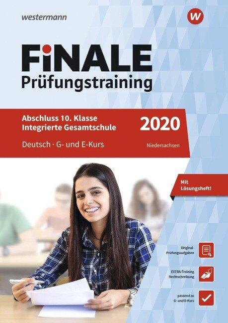 FiNALE Prüfungstraining 2020 Abschluss Integrierte Gesamtschule Niedersachsen. Deutsch - Jelko Peters