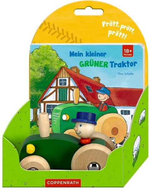 Mein kleiner grüner Traktor - Tina Sendler