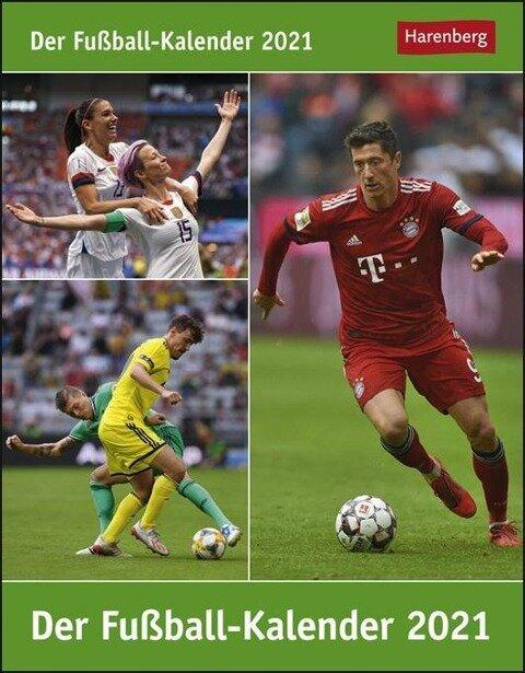 Der Fussball-Kalender 2020 - Thomas Huhnold