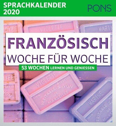 PONS Sprachkalender 2020 Französisch Woche für Woche -