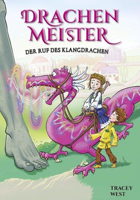 Drachenmeister Band 16 - Der Ruf des Klangdrachen - Tracey West