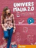 UniversItalia 2.0 A1/A2. Kursbuch + Arbeitsbuch + 2 Audio-CDs - Danila Piotti, Giulia de Savorgnani, Elena Carrara