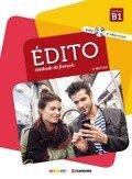 Édito B1 2. édition. Livre de l'élève +CD MP3 + DVD -