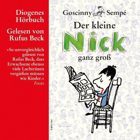 Der kleine Nick ganz groß - René Goscinny, Jean-Jacques Sempé