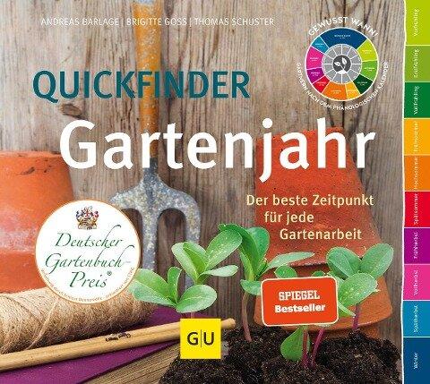 Quickfinder Gartenjahr - Thomas Schuster, Andreas Barlage, Brigitte Goss