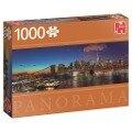 Hudson-Brücke, New York - 1000 Teile Panorama Puzzle -