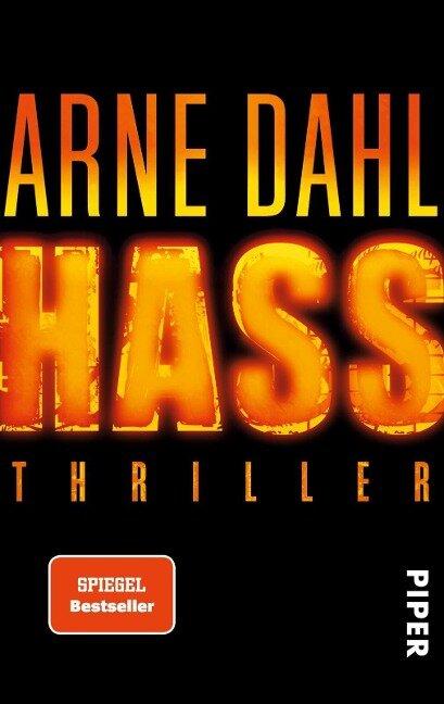 Hass - Arne Dahl