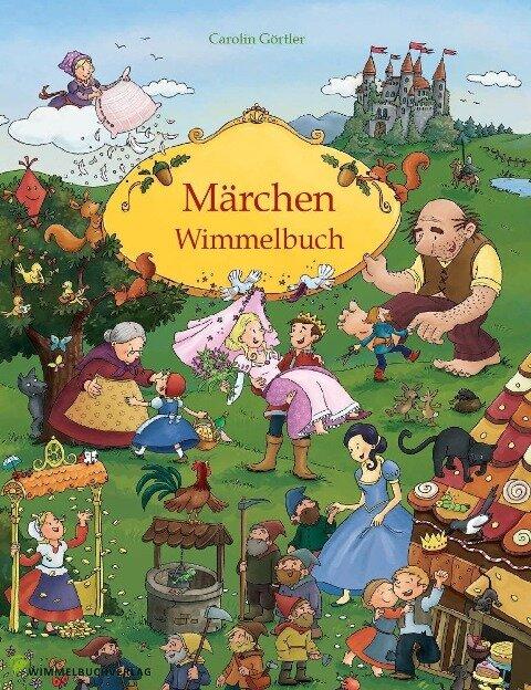 Märchen Wimmelbuch für Kinder ab 3 Jahren (Bilderbuch ab 3 Jahre, Mein Gebrüder Grimm Märchenbuch) -
