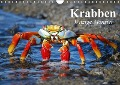 Krabben. Witzige Monster (Wandkalender 2018 DIN A4 quer) - Elisabeth Stanzer