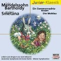 Ein Sommernachtstraum / Die Moldau. Klassik-CD - Felix Mendelssohn-Bartholdy, Friedrich Smetana