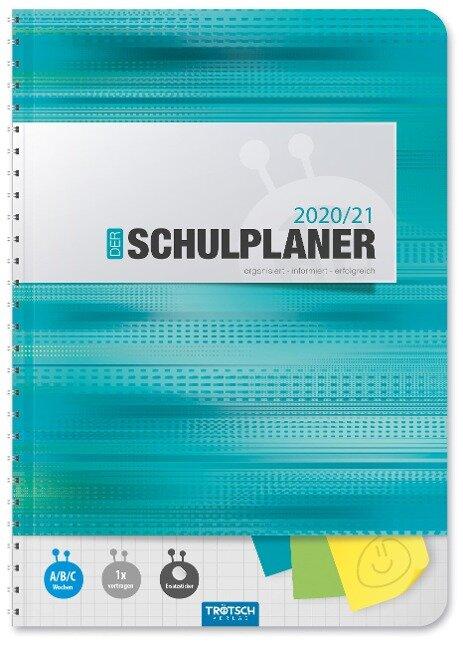 """Trötsch Schulplaner """"Türkis"""" 2020/2021 -"""