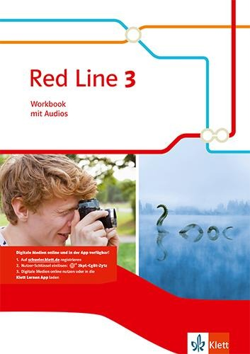 Red Line 3. Workbook mit Audio-CD. Ausgabe 2014 -