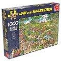 Jan van Haasteren - Der Park - 1000 Teile Puzzle -