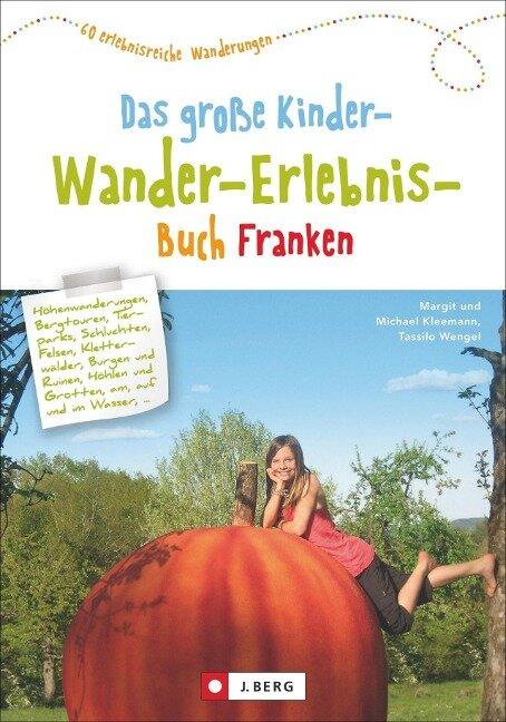 Das große Kinder-Wander-Erlebnis-Buch Franken